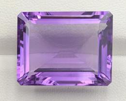 33.22 Carats Natural Amethyst Gemstones