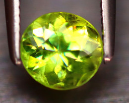Sphene 1.07Ct Natural Rainbow Flash Green Sphene EF2828/B41