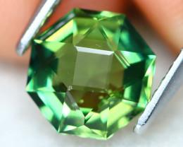 Green Apatite 1.53Ct Precision Master Cut Natural Green Apatite AT0525