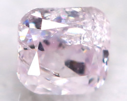 Pink Diamond 2.2mm Natural Untreated Fancy Diamond BM0766
