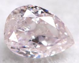 Peach Pink Diamond 3.2mm Natural Untreated Fancy Diamond BM0767