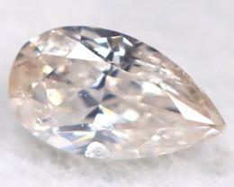Peach Pink Diamond 3.5mm Natural Untreated Fancy Diamond BM0768