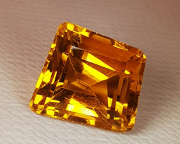 5.18 ct Top Quality Gem Beautiful Fancy Cut Natural Citrine