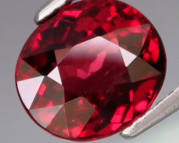 4.08 Ct.100% Natural Earth Mined  Cherry Red Rhodolite Garnet Africa