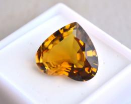 12.63 Carat Fantastic Heart Shaped Dravite Tourmaline