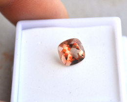 1.99 Carat Cushion Cut Coppery Oregon Sunstone