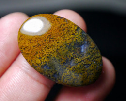 42.20 CT UNTREATED Beautiful Indonesian Moss Agate Picture