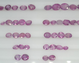 Natural Sapphire Parcels 10.00 Cts from Kashmir, Pakistan