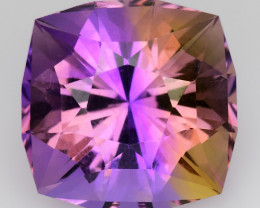 Natural Bolivian Ametrine 9.64 Cts Top Quality with Precision Cut