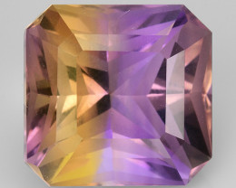 Natural Bolivian Ametrine 9.42 Cts Top Quality with Precision Cut