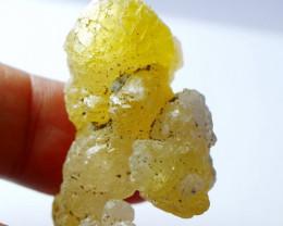 103.25 CT Natural - Unheated Yellow Brucite Specimen