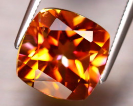 Topaz 5.25Ct Natural IF Vivid Orange Topaz DF2922/A46