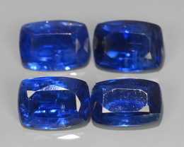 4.35 CTS EXCELLENT CORNFLOWER BLUE KYANITE CUSHION GEM!