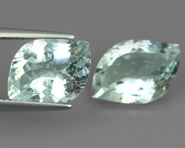 9.30 CTS FANTASTIC HUGE AWESOME  NATURAL FANCY CUT AQUAMARINE!