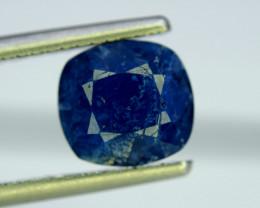 2.60 Carat Extremely Rarest Blue Motif Color Afghanite Gemstone From Afghan