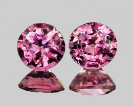 4.00 mm Round 2 pcs Light Pink Spinel [VVS]