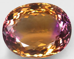 55.13 Ct. 100% Natural Earth Mined Top Quality Ametrine Bolivia Unheated