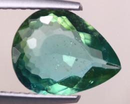 2.01ct Natural Green Apatite Pear Cut Lot V7703