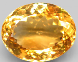 22.28 Ct. 100% Natural Earth Mined Top Quality Yellow Golden Citrine Unheat