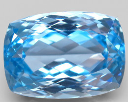 44.36  ct. 100% Natural Earth Mined Top Quality Blue Topaz Brazil