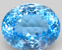 30.26 ct. 100% Natural Earth Mined Top Quality Blue Topaz Brazil
