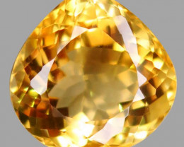 18.00 ct. 100% Natural Unheated Top Yellow Golden Citrine Brazil