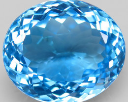 39.22 Ct. 100% Natural Earth Mined Top Quality Blue Topaz Brazil