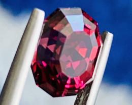 2.84 ct Red color Tourmaline Gemstone