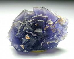 Amazing Natural color Damage free Lovely gemmy Fluorite cluster 147Cts-P