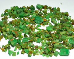 Amazing Natural color Good Size Emerald lot good for Cabs 750 Cts-Afghan