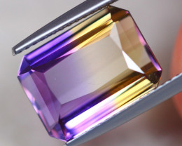 7.09ct Natural Bi Color Ametrine Octagon Cut Lot P312