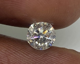 (11) Certified $1619 Fiery 0.70cts SI2 Nat White Round Loose Diamond