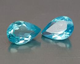 0.95CT NEON BLUE APATITE BEST QUALITY GEMSTONE IIGC012