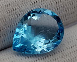 9CT BLUE TOPAZ BEST QUALITY GEMSTONE IIGC012