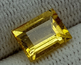2CT HELIODOR BERYL  BEST QUALITY GEMSTONE IIGC012