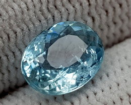 1.25CT AQUAMARINE  BEST QUALITY GEMSTONE IIGC012