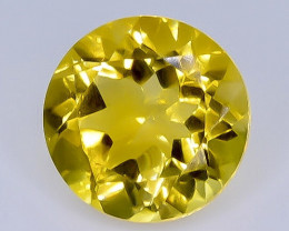 3.28 Crt Natural  Citrine Faceted Gemstone.( AB 5)