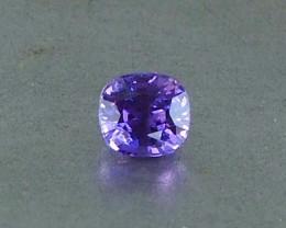 1.12ct unheated purple sapphire