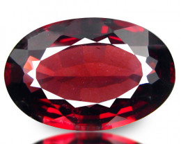 5.75  Ct. Natural Earth Mined Rhodolite Garnet Africa – IGE Certificate