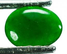 ~UNTREATED~ 0.77 Cts Natural Green Jade Cabochon Burmese