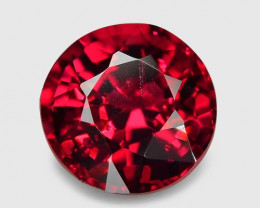0.61 Cts Un Heated  5.05x3.34 mm Top Red Color Natural BURMA SPINEL Loose G
