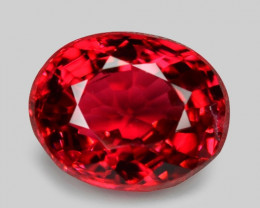 0.47 Cts Un Heated  4.96x2.88 mm Top Red Color Natural BURMA SPINEL Loose G