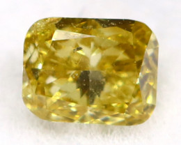 Green Diamond 0.13Ct Untreated Genuine Fancy Diamond C2918