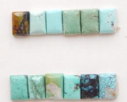 8cts Tiny Turquoise ,Handmade Gemstone ,Turquoise Cabochons H246