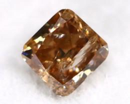 Champagne Diamond 0.24Ct Natural Untreated Fancy Diamond B2903