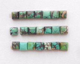 10cts Lucky Turquoise ,Handmade Gemstone ,Turquoise Cabochons H250