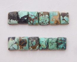 21cts Lucky Turquoise ,Handmade Gemstone ,Turquoise Cabochons H252