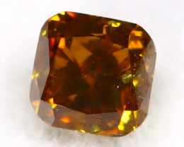 Champagne Diamond 0.17Ct Untreated Genuine Fancy Diamond B2916