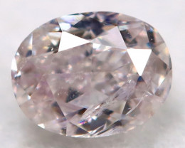 Peach Pink Diamond 0.10Ct Natural Untreated Fancy Diamond BM0709