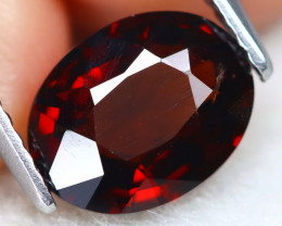 Red Spinel 1.92Ct VS2 Oval Cut Natural Red Spinel A2901